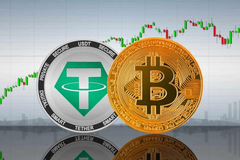 USDT是全球第三大市值的加密幣。(李可人提供)