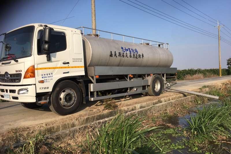 嘉縣河川污染整治獲特優,推動畜牧廢水再利用,以改善河川水質。 (圖/嘉義縣政府環保局提供)