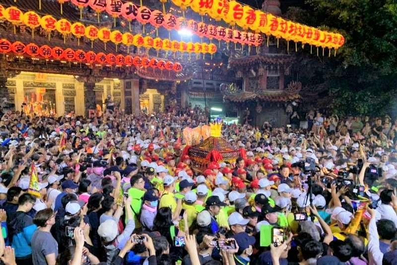 廟方人員認為,若白沙屯媽祖選擇走台1線南下,有機會在雲林地區和大甲媽祖交會。(圖/大甲鎮瀾宮@facebook)
