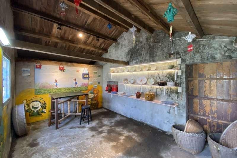 ㄚ嬤ㄟ灶腳成為此次文化報留地,藉以保存宜蘭壯圍的竹圍文化。(圖/宜蘭縣社會處提供)