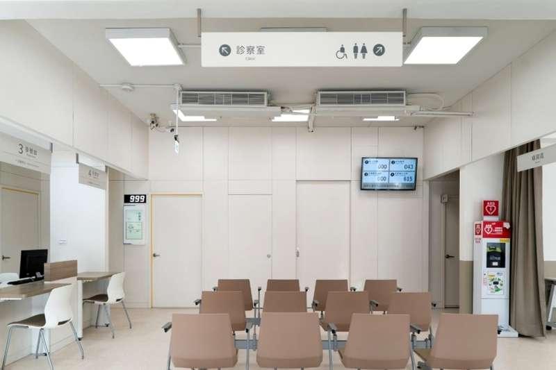 鶯歌衛生所變身為明亮時尚的五星級衛生所。(圖/新北市衛生局提供)