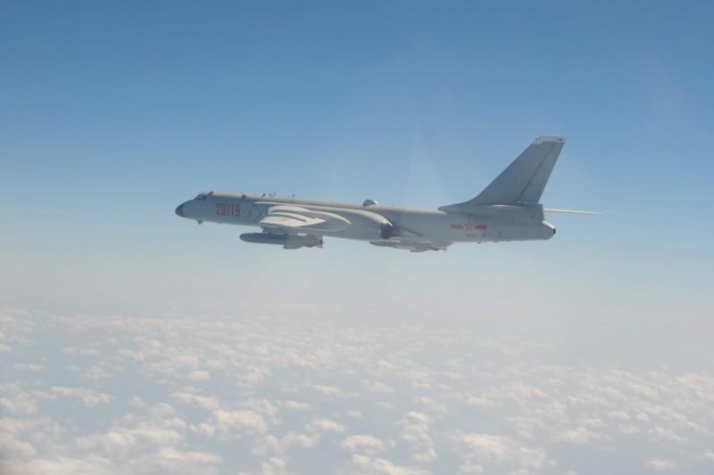 共機轟6K。(空軍司令部提供)