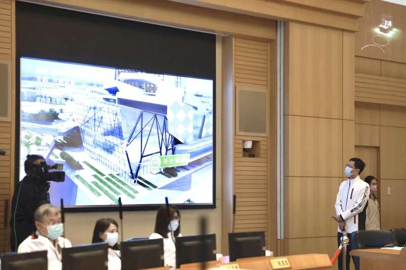 城鄉發展局局長黃國峰表示,新北都更代拆第二案「板橋區江子翠段都更案」,已完成法定都更程序及協調程序,於8日執行代為拆除完成。(圖/新北市城鄉發展局提供)