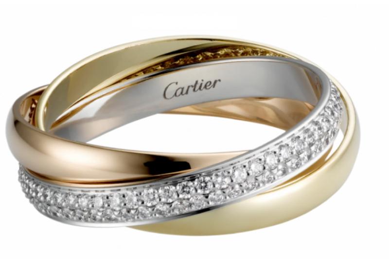 卡地亞三環戒指(圖片來源:Cartier官網)