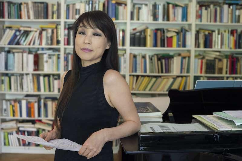 韓國作曲家陳銀淑-攝影Priska Ketterer。(圖/衛武營國家藝術文化中心提供)