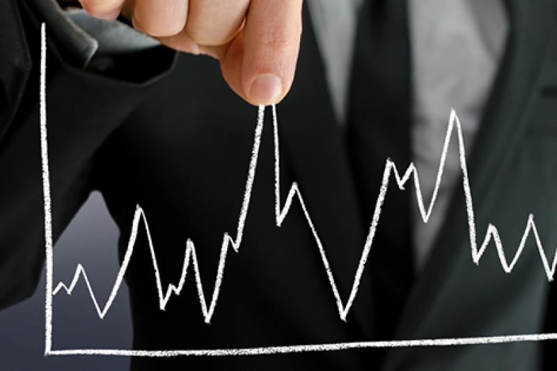 芝加哥選擇權交易所(CBOE)用來衡量市場恐慌氣氛的波動率指數(VIX),過去幾個月來多次出現假跌破。(圖片來源:取自MoneyDJ)