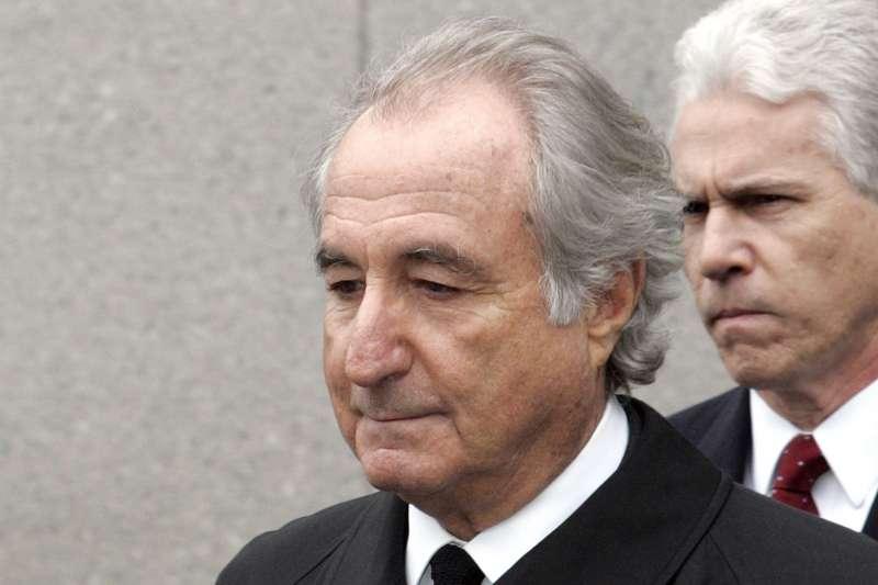 美國金融史頭號詐欺犯梅多夫(Bernie Madoff)(AP)