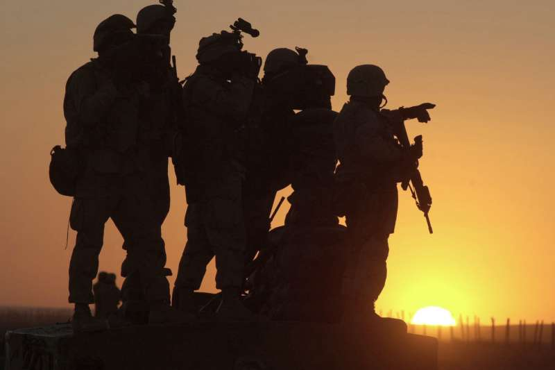2021年4月,美國總統拜登宣布將從阿富汗撤離全部美軍(AP)