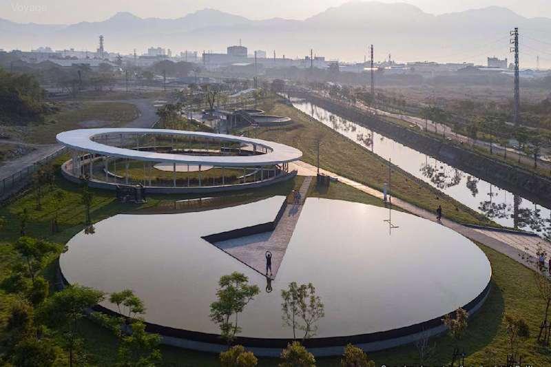 屏東縣民公園-在水ㄧ方,由李易暹拍攝。(圖/屏東縣政府城鄉發展處提供)