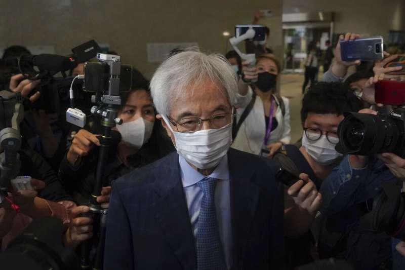 香港民主黨創黨成員、被民主派人士譽為香港「民主之父」的李柱銘被判刑。(美聯社)