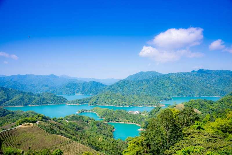 台灣面臨乾旱危機,但翡翠水庫地蓄水量卻仍有將近75%。(圖/曾成訓@flickr提供)