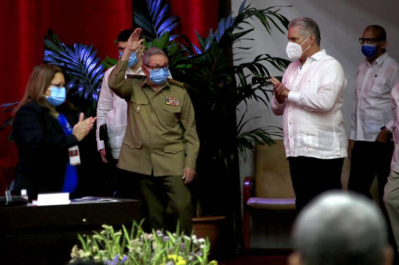 2021年4月16日,古巴共產黨中央委員會第一書記勞爾.卡斯楚(Raúl Castro)宣布辭職(AP)