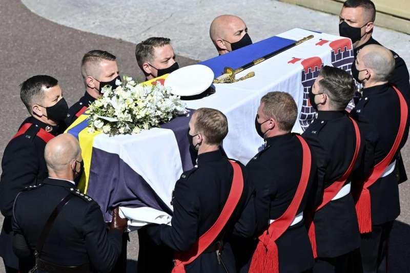英國愛丁堡公爵(Duke of Edinburgh)菲利普親王(Prince Philip)的葬禮將在4月17日舉行。(AP)