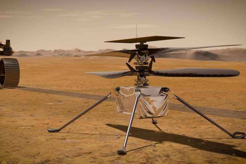 NASA火星直升機「獨創號」(Ingenuity)(NASA)