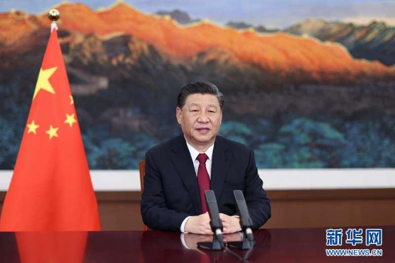 習近平表示,向世界闡釋推介更多具有中國特色、體現中國精神、蘊藏中國智慧的優秀文化…努力塑造可信、可愛、可敬的中國形象。(新華社)
