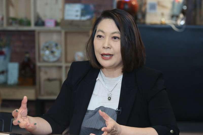 20210420-台灣紡織數位升級發展協會理事長詹怡婷。(柯承惠攝)