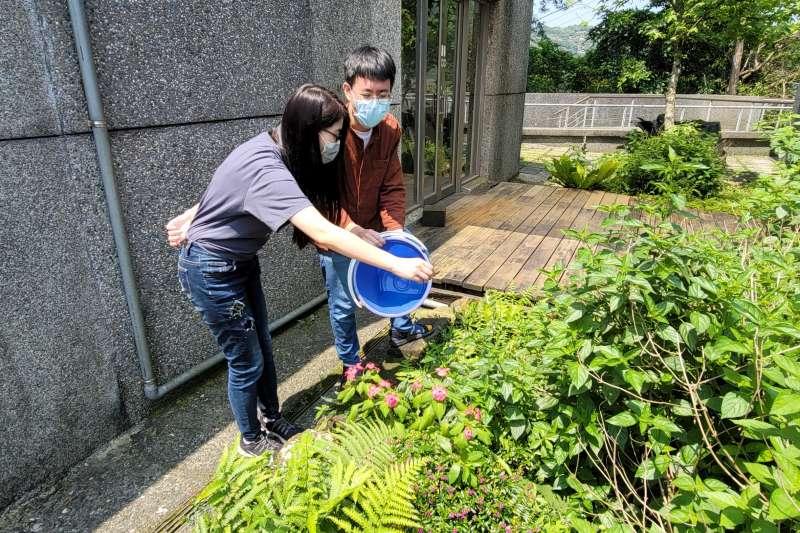 黃金博物館倡導將環保觀念化為每日生活習慣,大家一起努力,讓地球永續發展。(圖/新北市政府提供)