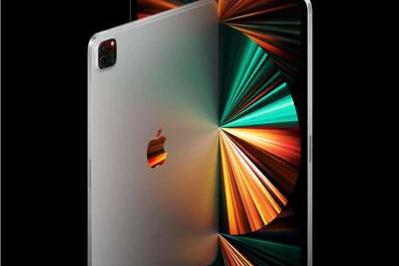 蘋果的iPad Pro也換上了M1晶片。(美聯社)