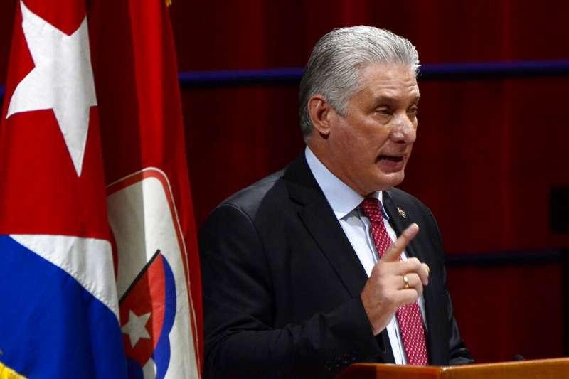 古巴統治者的世代交替:迪亞斯(圖)與勞爾。(美聯社)