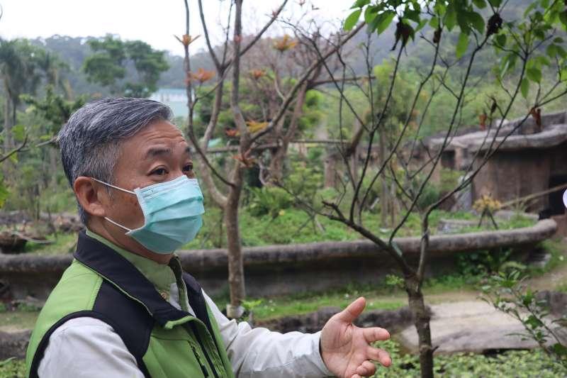 動物外交、台北市立動物園發言人曹先紹。(蔡娪嫣攝)
