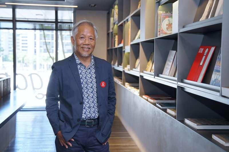 20210424-雄獅集團董事總經理裴信祐接受《風傳媒》專訪。(盧逸峰攝)