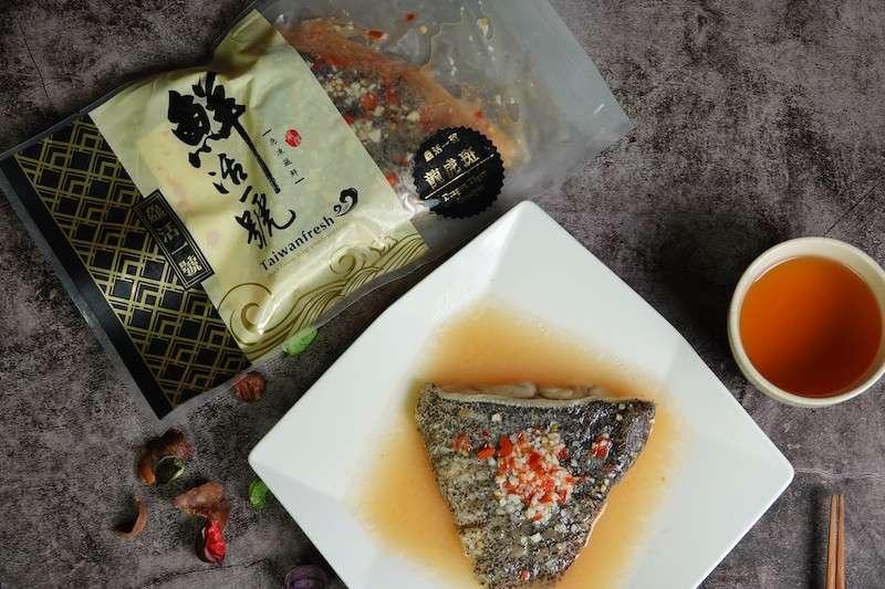 屏東優質石斑魚以自有品牌「鱻活一號」外銷到美國市場。(圖/屏東縣海洋及漁業事務管理所提供)