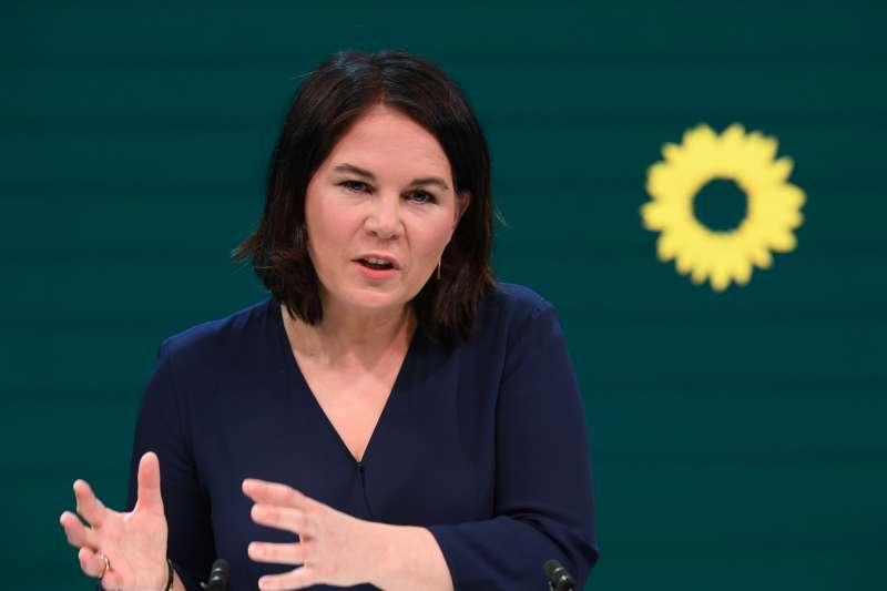 德國綠黨領導人貝爾伯克(Annalena Baerbock)(AP)
