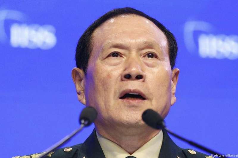 中國國防部長魏鳳和。(美聯社)