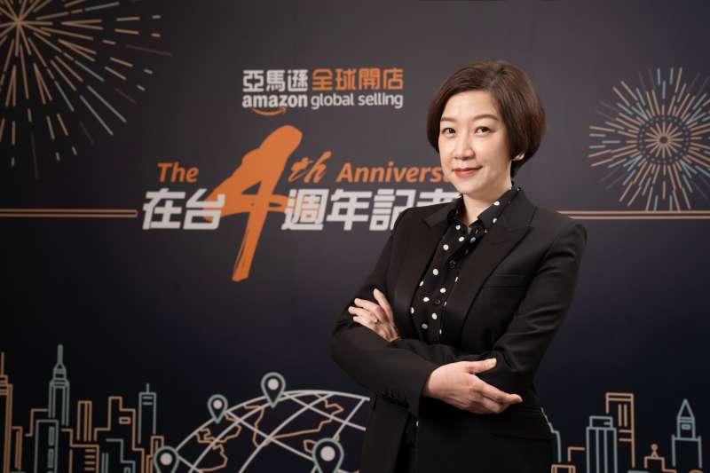 亞馬遜全球開店台灣總經理陳思芬(Amanda Chen)。(圖/亞馬遜提供)