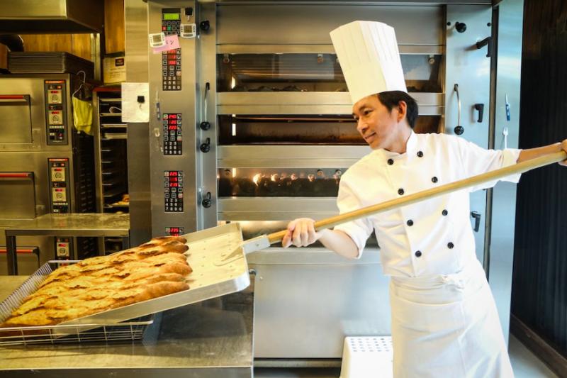 台灣之光吳寶春靠做麵包做成世界第一,全靠對夢想的努力與堅持。(圖/取自Hahow)