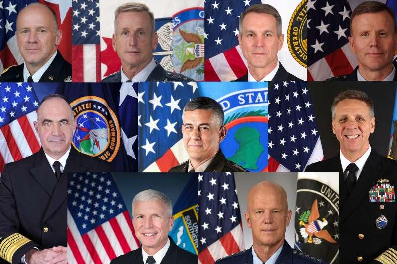 「36顆星備忘錄」的連署指揮官們。(維基百科/公用領域)
