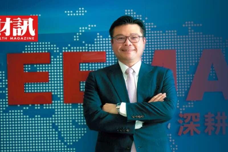 台灣區電機電子工業同業公會副理事長許介立。(圖/潘重安攝)