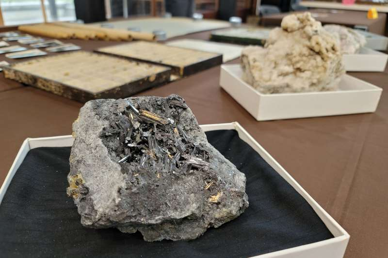 拉丁美洲蘊藏的貴金屬資源,白銀占其中絕大部分。(資料照,新北市黃金博物館提供)