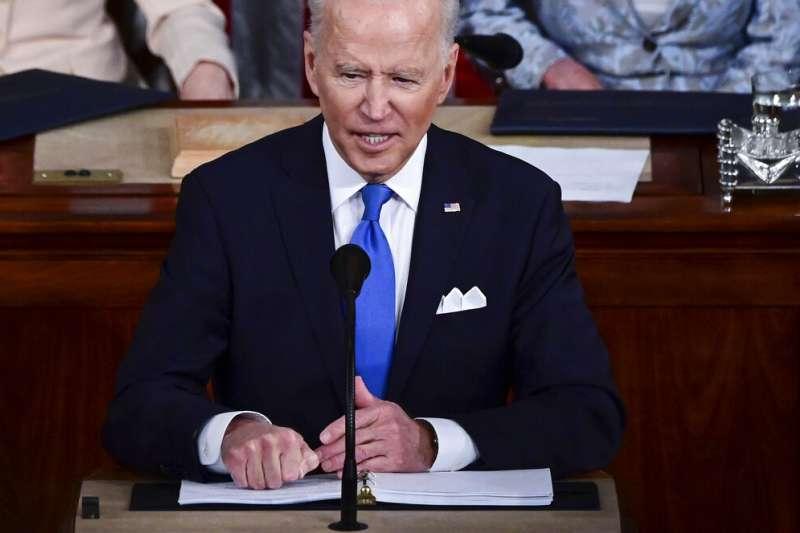 美國總統拜登的行政命令使禁止接受美國投資的中國公司數量達到59家。(美聯社)