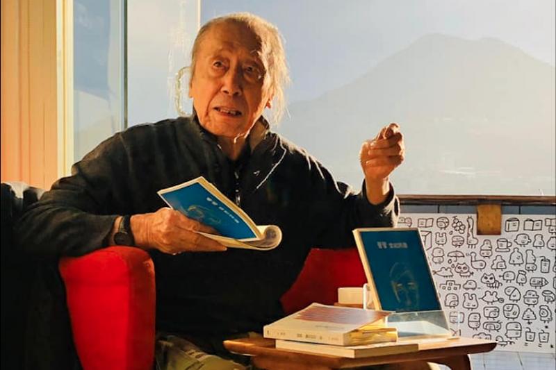 現代詩人管管(見圖)1日逝世,享耆壽92歲。(取自管管臉書)