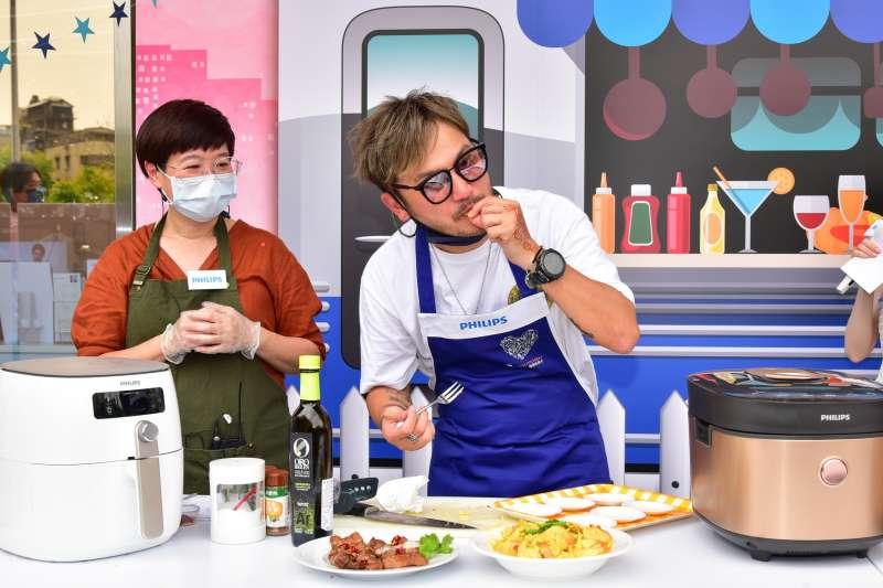 飛利浦結合全國電子,舉辦冒險家創意玩餐車-誰是餐車美食王活動。(圖/全國電子提供)