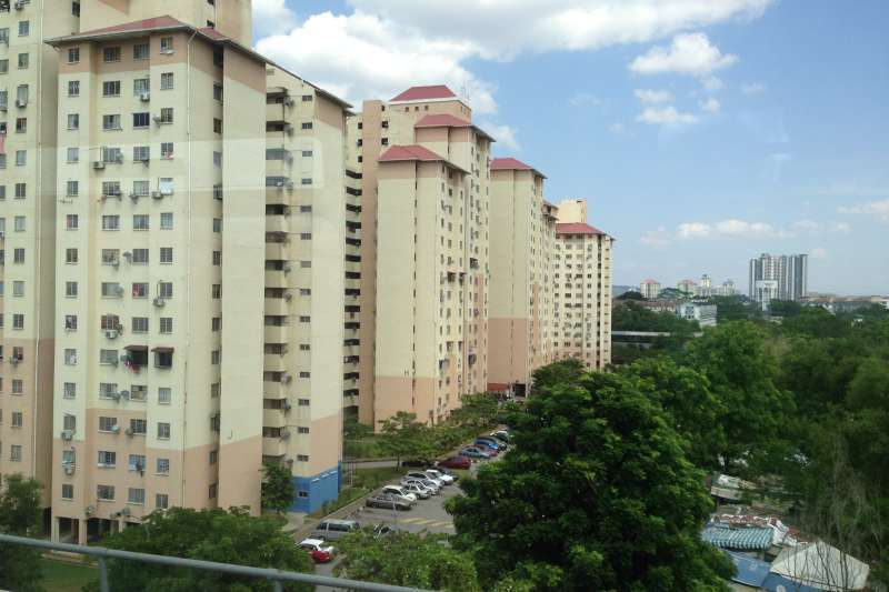 新加坡強力介入住宅市場,自有住宅率高達9成(圖片來源:維基百科)