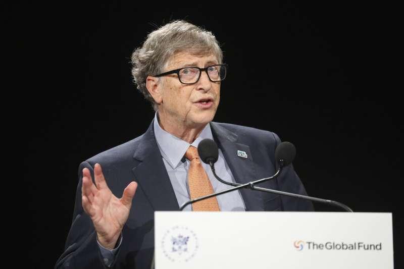 微軟創辦人比爾蓋茲。(美聯社)