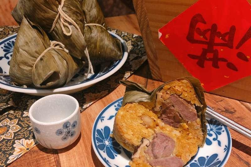 絕對粽意的美味,魔法咖哩嚴選牛肉咖哩粽上市。(圖/業者提供)