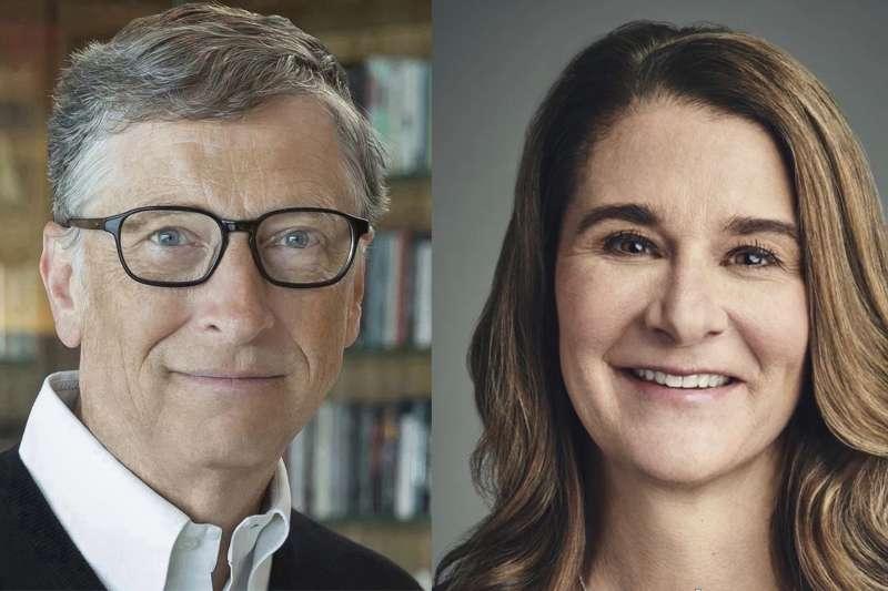 比爾・蓋茲與梅琳達・蓋茲。(翻攝比爾與梅琳達蓋茲基金會官網)