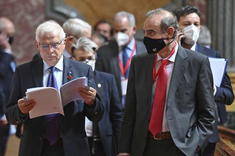 2021年5月3日,七國集團(G7)外長會議在倫敦召開。(AP)