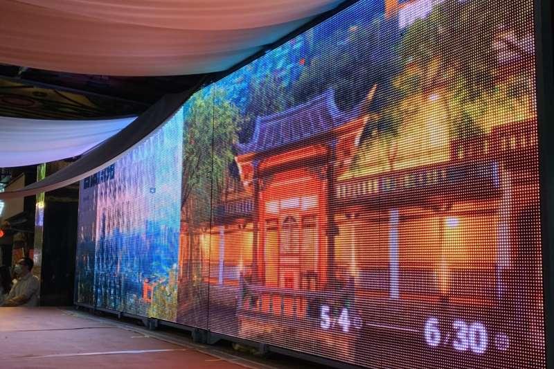 府中雙城-古城遶境全面開路,首創移動式裝置藝術為地方慶典傳遞在地故事。(圖/新北市文化局提供)