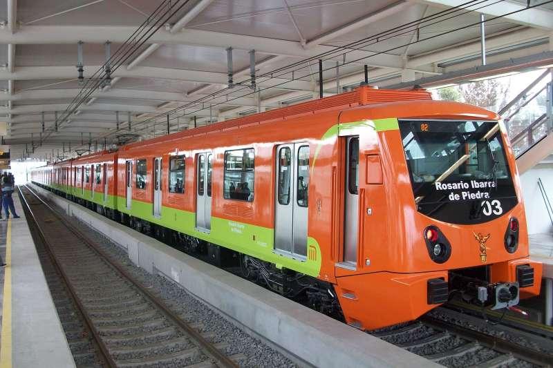 墨西哥城的捷運12號線。(GAED@Wikipedia/CC BY-SA 3.0)