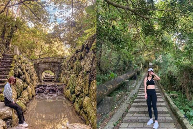 台北8條輕鬆好走的登山步道,登頂就能一覽都市絕佳風景。(圖/chloe1213__、kosennicc,Instagram)