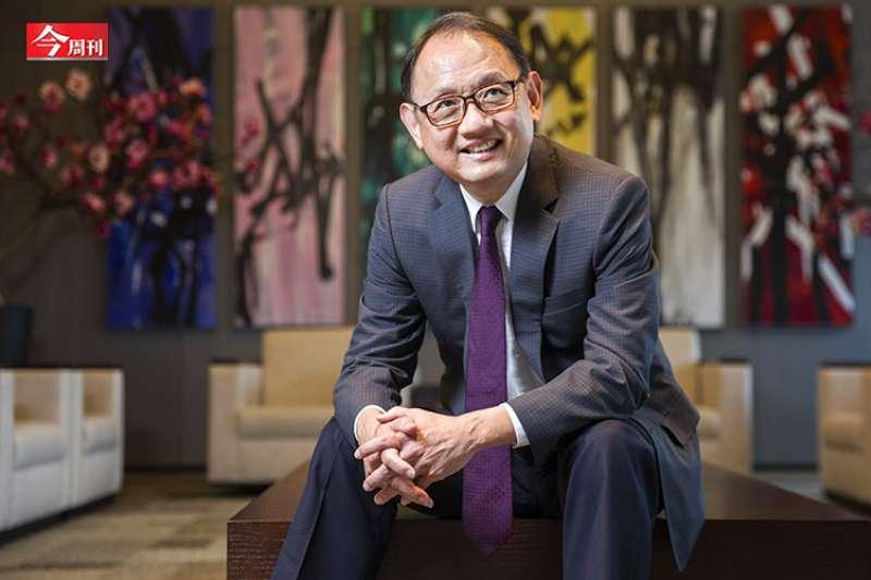 華新麗華董事長焦佑倫是持股東元近10%的大股東。(今周刊提供)