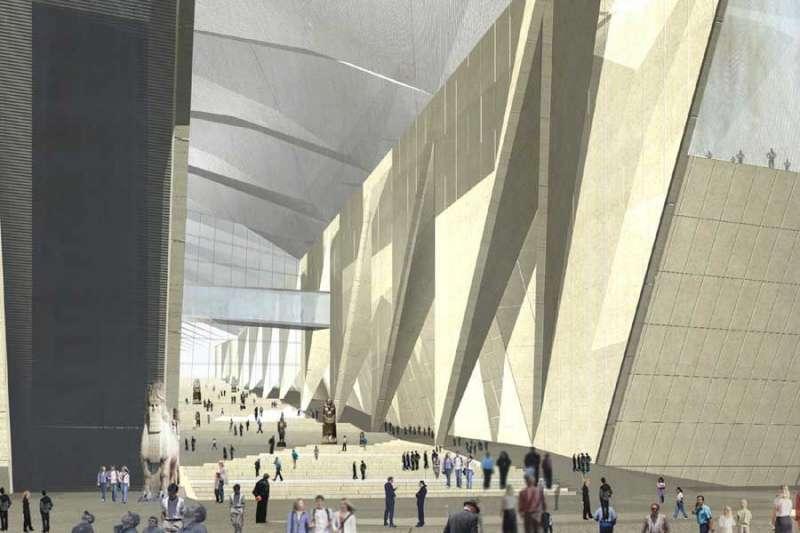 全球最大的考古博物館—大埃及博物館將在今夏開幕,高達5000件珍貴文物將再次公開。(圖/轉載自瘋設計)