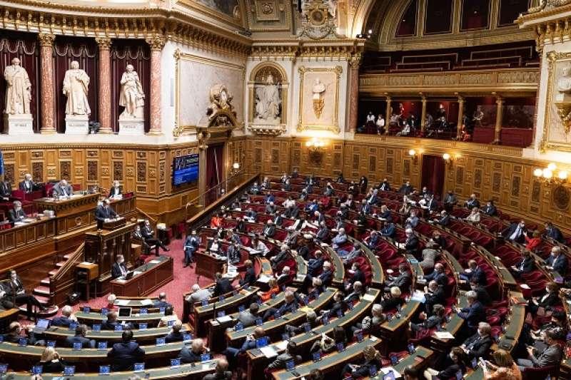 今年3月,參議員訪台計畫公布後,引發北京怒火。(資料照/法國參議院官網)