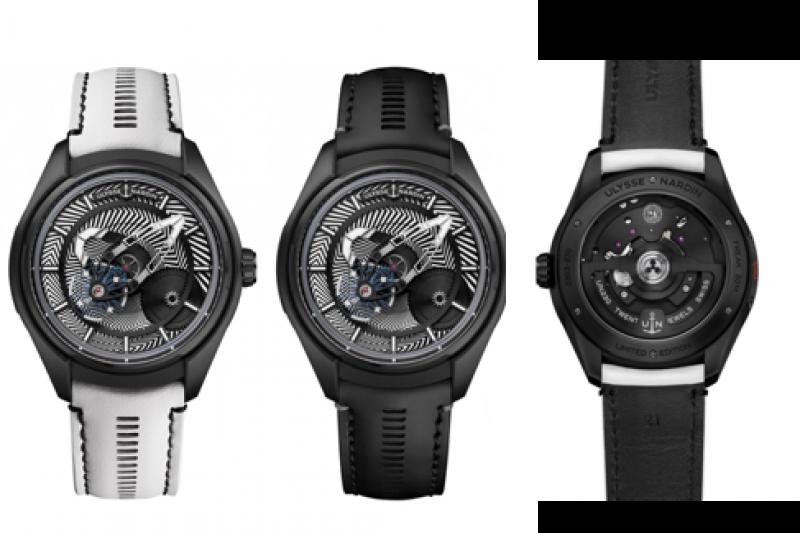 全新腕錶採用43毫米的直徑設計,讀時和操作更便捷。(圖/雅典錶提供)