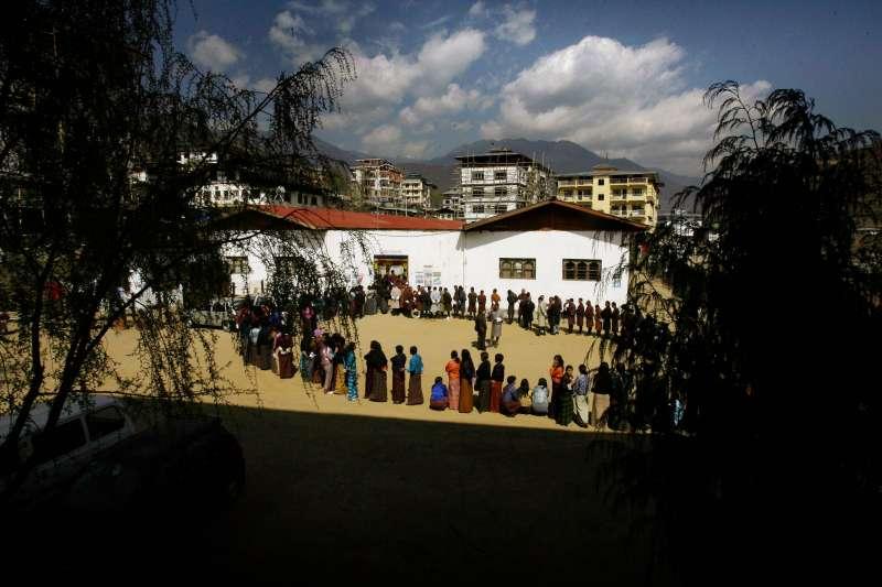 不丹首都廷布(資料照,AP)