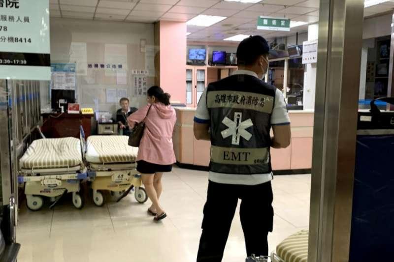 20210509-急診室。(陳煜攝)